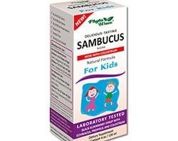 Самбукус Нигра /с черен бъз, ехинацея, прополис и коластра/ за Деца 120 ml сироп