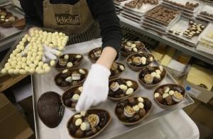 Десетте страни, най-големи любители на шоколад в света